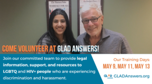 Volunteer with GLAD Answers