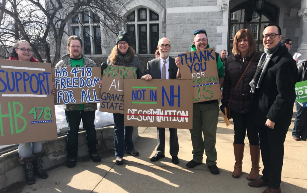 Supporter of Transgender Nondiscrimination in New Hampshire