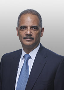 Hon. Eric H. Holder Jr. 2017 SOJ Award Honoree