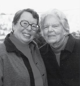 Del Martin and Phyllis Lyon