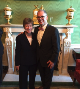 Mary Bonauto and Jim Obergefell post-SCOTUS ruling in 2015.