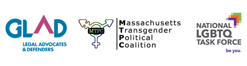 GLAD, MTPC, and Task Force logos