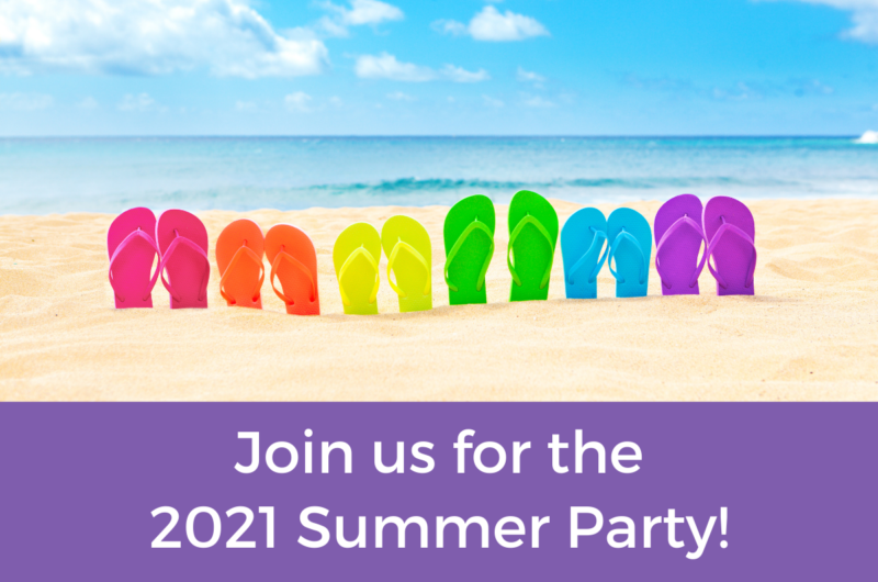 Join us for the 2021 Summer Party!