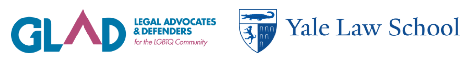GLAD logo and Yale Law School logo